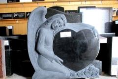 Hauakivi erikujuline, bareljeef - ingel 35