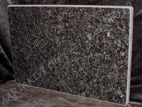 Hauaplaat [0135-40] 45x30x3cm, must pärl graniit
