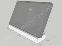 Hautalaatan betonijalusta mitoilla
