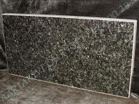 Hauaplaat 0125 50x25x3cm, must pärl graniit