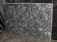 Hauaplaat 0135 45x30x3cm, sinine pärl graniit