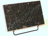 Hauaplaat [0100] 40x25x3cm, roheline pärl graniit, metallist alus