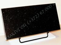 Hauaplaat [0125] 50x25x3cm, tähistaevas graniit, metallist alus