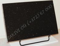 Hauaplaat 0135 45x30x3cm tähistaevas graniit, metallist alus