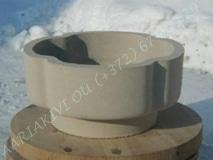 """Hauavaas betoonist """"Ristik"""", 38x18cm, 14kg"""
