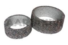 Vaas pesubetoonist -  ümar, põhjata, 320x120 ja 440x160, kirjuhall kild