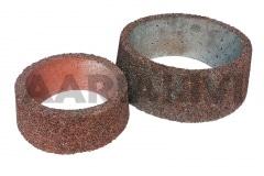 Vaas pesubetoonist - ümar, põhjata, 320x120 ja 440x160, punane kild