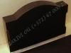 Hauakivi [024-42-10 M3C+++] 60x40x10cm, Poleeritud Poleeritud Poleeritud, peal kaar õlgadega