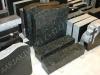 Hauakivi [056-2-15 M2A] 70x80x15cm, Poleeritud Poleeritud Poleeritud, peal laine