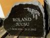 Hauakivi [030-13-10] 60x50x10cm, Poleeritud Klombitud Saetud, pilt-9, kiri-69(est/rus), naturaalne