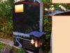 Hauakivi [060-15-15] 60x100x15cm, Poleeritud Klombitud Saetud, pronks nimeplaat, pilt-117, kiri-66(est/rus), kuldne värv