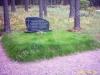 Muruga mätastatud hauapiire, 2 hauakohta (laius 250cm, pikkus 250cm), muruvaip