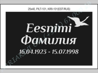 РИСУНОК-101, ШРИФТ-101(латиница/кирилица)