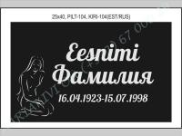 РИСУНОК-104, ШРИФТ-104(латиница/кирилица)