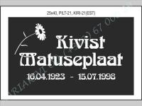 KUVA-021, KIRJE-021(latina)