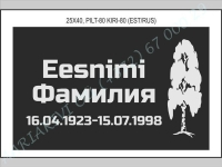 РИСУНОК-080, ШРИФТ-080(латиница/кирилица)