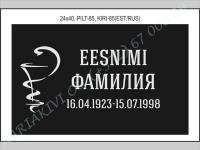 РИСУНОК-085, ШРИФТ-085(латиница/кирилица)