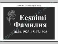 PILT-029, KIRI-029(est/rus)