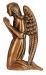 Toode nr 2074 D (parem) - Pronks ingel 12cm