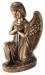 Toode nr 3462 D (parem) - Pronks ingel 25x17x12cm