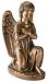 Toode nr 3462 S (vasak) - Pronks ingel 25x17x12cm