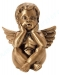 Toode nr 3467 - Pronks ingel 12,5x10,6x9,5cm