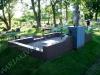 Hauapiire graniidist eriprojekt Paldiski kalmistul, vundament valmis graniidist detailid paigas PIIRE VALMIS (11)