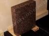 Hauakivi [020-4-10]  40x50x10cm, Poleeritud Poleeritud Saetud, pruun graniit