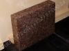 Hautakivi [020-7-10] 50x40x10cm, Kiillotettu Kiillotettu Kiillotettu Sahattu, ruskea graniitti