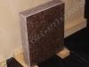 Hauakivi  [020-13-10] 40x50x10cm, Poleeritud Saetud Saetud, pruun graniit