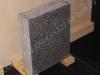 Hauakivi [020-15-12] 40x50x12cm, Poleeritud Saetud Saetud, helehall graniit