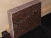 Hauakivi [020-19-10] 50x40x10cm, Poleeritud Saetud Saetud, pruun graniit
