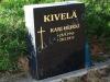 Hauakivi [020-23-15] 40x50x15cm, must graniit, Poleeritud Saetud Saetud, pilt-8, kiri-121(est/rus), lehtkuld