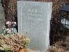 Hauakivi [024-14-15] 40x60x15cm, hall graniit, Poleeritud Saetud Saetud, pilt-8, kiri-3(est/rus), hõbedavärv