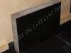 Hauakivi [027-4-10] 60x45x10cm, Poleeritud Saetud Saetud, must graniit