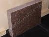 Hauakivi [027-6-10] 60x45x10cm, Poleeritud Saetud Saetud, pruun graniit