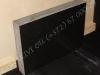 Hauakivi [035-21-10] 70x50x10cm, Poleeritud Saetud Saetud, must graniit