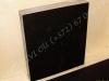 Hautakivi [042-6-10] 60x70x10cm, Kiillotettu Sahattu Sahattu musta graniitti