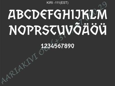 KIRI-111(est)
