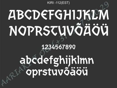 KIRI-112(est)