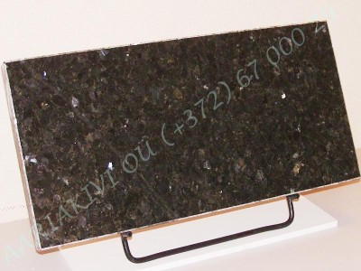 hauaplaat 0125 50x25x3cm roheline parl graniit metallist alus