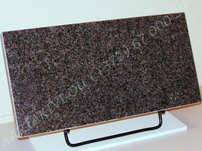 hauaplaat 0125 50x25x3cm tumehall graniit metallist alus