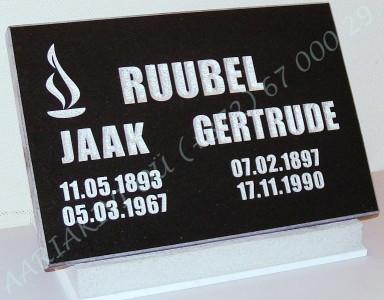 hauaplaat 0135 45x30x3cm must graniit, pilt-16 kiri-23, hobe, betoonist alus