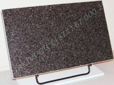 hauaplaat 0150 50x30x3cm tumehall graniit metallist alus
