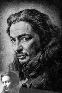 AARIAKIVI hauakivid portree graniidil mees pikajuukseline 3