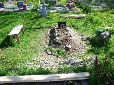 Hauapiire graniidist eriprojekt Paldiski kalmistul 01 nii oli