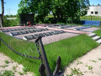 Paldiski kalmistule rajatud mälestusmärk 1956 aastal 20 oktoobril uppunud alvelav PLM-200 hukkunud meeskonnaliikmetele 02