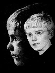 Poisi portree varjuga